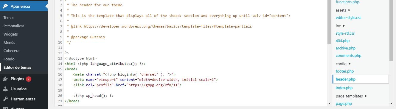 vincular Analytics Google WordPress