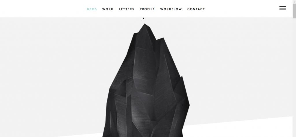 Páginas web minimalistas ejemplos